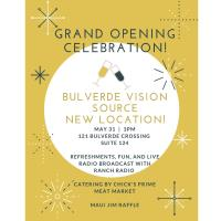 GRAND OPENING - BULVERDE VISION SOURCE NEW LOCATION