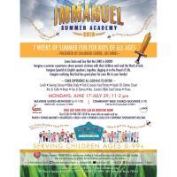 Immanuel Summer Academy 2019