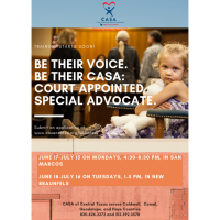 Be Their Voice  - Be Their CASA - Court Appointed Special Advocate