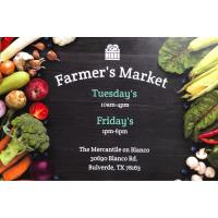 Farmer's Market at The Mercantile on Blanco