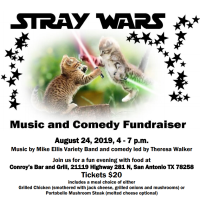 Stray Wars! Benefit for Animal Rescue Connections