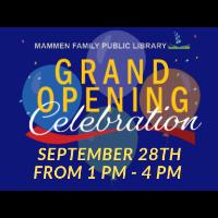 Grand Opening Celebration!!