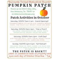 Pumpkin Patch Grand Opening - Bulverde United Methodist Church