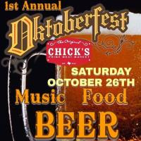 1st Annual Chick's Octoberfest