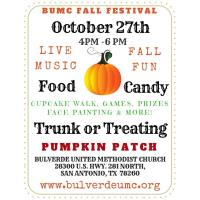 Trunk or Treating at the BUMC Pumpkin Patch