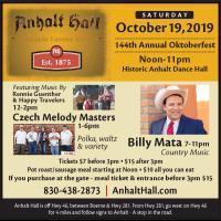 Oktoberfest at Anhalt Hall