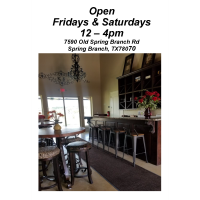 Kai-Simone Winery Open Fridays & Saturdays