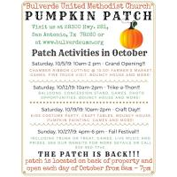 Pumpkin Patch Event