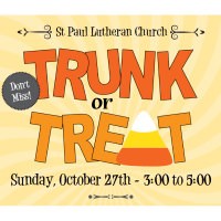 Trunk or Treat at St Paul Lutheran Church