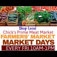 Farmer's Market @Chick's Prime Meat Market