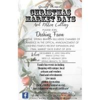 Spring Branch Christmas Market Day Event