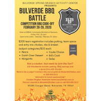 Bulverde BBQ Battle