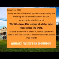 Postponed - Anhalt Western Roundup - Country & Western Dance Music Fest