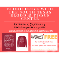 Blood Drive with the South Texas Blood & Tissue Center