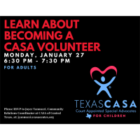 CASA Volunteer Informational