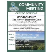 """Got Backbone?  The Story of El Rancho Cima"""