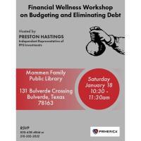 Financial Wellness Workshop on Budgeting & Eliminating Debt