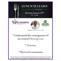 Lunch & Learn with Texas Hearing Associates