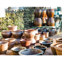 Pottery Sale at Spring Creek Gardens