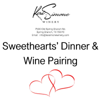 Sweethearts' Dinner & Wine Pairing