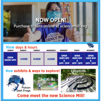 Science Mill Now Open