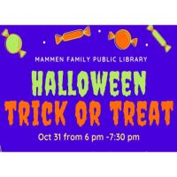 Trick or Treat at the Mammen Family Public Library