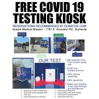 Free COVID 19 Testing Kiosk