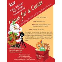 Claus for a Cause Presented by Keller Williams Hill Country