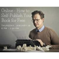 Online - How to Self-Publish Your Book for Free