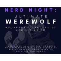 Online - Nerd Night, Ultimate Werewolf