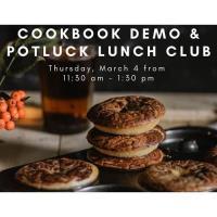 Online - Cookbook Demo & Potluck Lunch Club