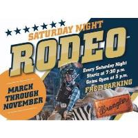 Saturday Night Rodeo at Tejas Rodeo Company 2021