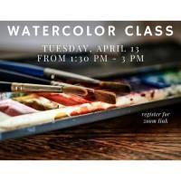 Online - Watercolor Class