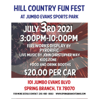Hill Country Fun Fest at Jumbo Evans Sports Park