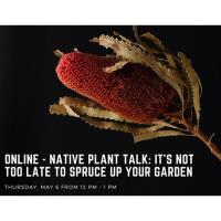 Online - Native Plant Talk: It's Not Too Late to Spruce Up Your Garden