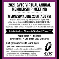 GVTC Virtual Annual Membership Meeting