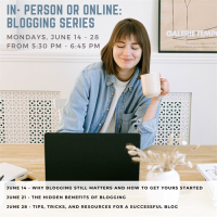 In-Person or Online: Blogging Series