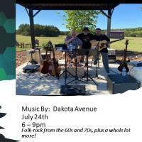 Live Music Under the Stars:  Dakota Avenue