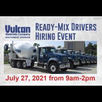 Vulcan Materials - Ready-Mix Drivers Hiring Event