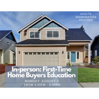 In-person: First-Time Home Buyers Education