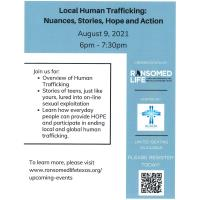 Local Human Trafficking: Nuances, Stories, Hope and Action