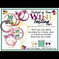Festival of Trees Wine Tasting