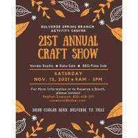 21st Annual Craft Show