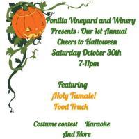 Pontita Vineyard & Winery 1st Annual Cheers to Halloween
