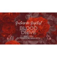 Blood Drive at Bulverde Baptist Church
