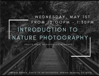 Nature Photography Series: Intro to Nature Photography