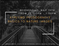 Nature Photography Series: Applying Photography Basics to Nature Images