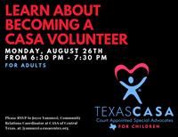 CASA Volunteer Informational