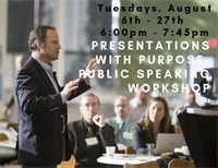 Presentations with Purpose - Public Speaking Workshop