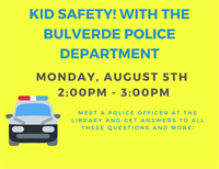 Kids Safety! With Bulverde Police Department